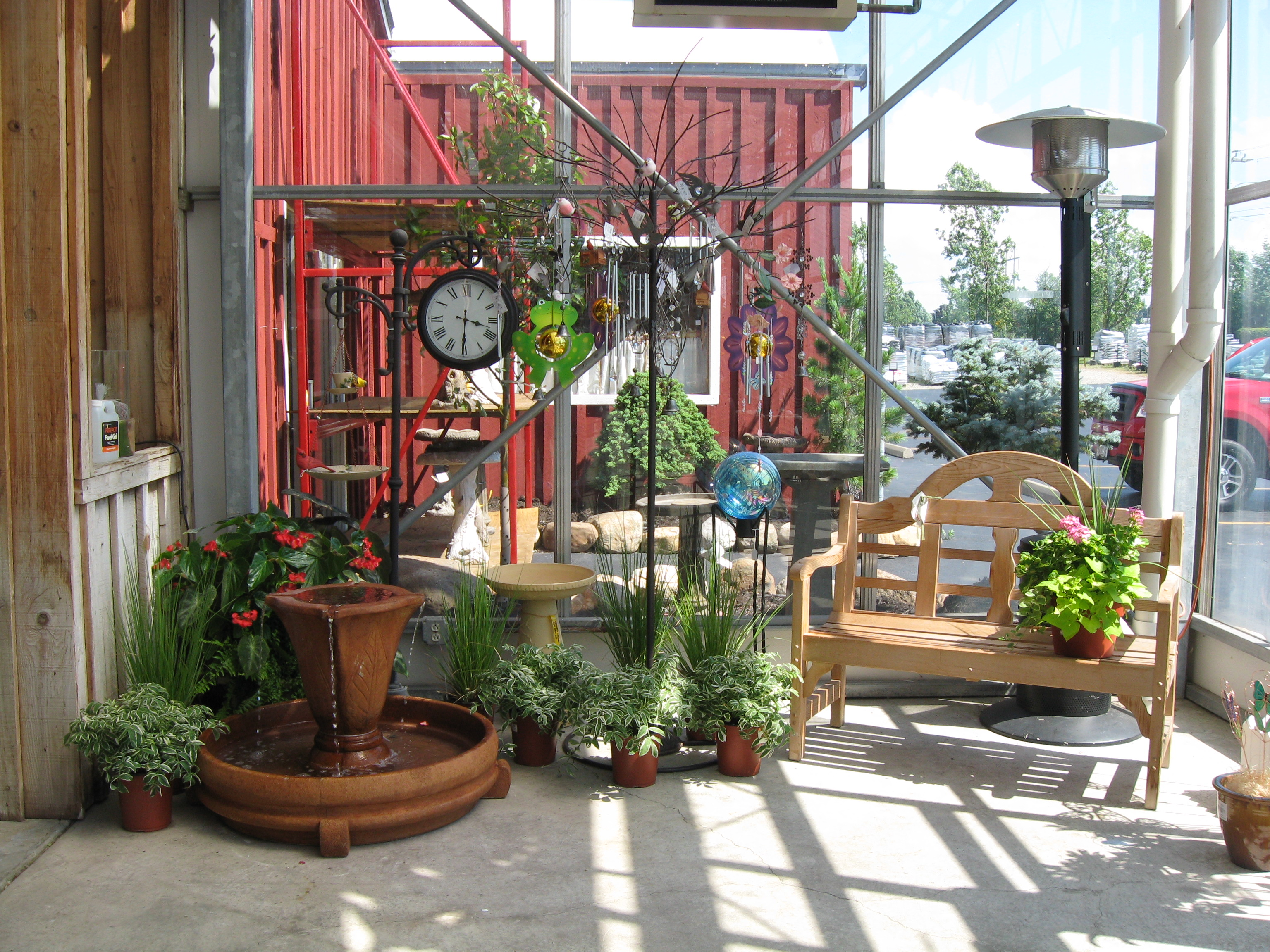 Whimsical Garden Well With Tires This Cascade Of Color And